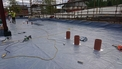 Gas Membrane Before Concrete Floor