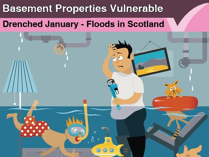 Basement properties vulnerable to floods