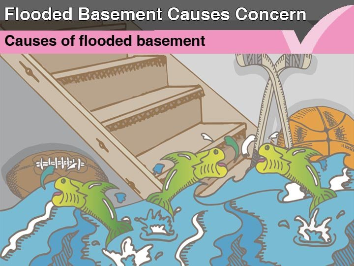 Flooded basement causes concern
