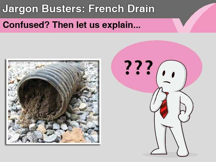 French Drain | Jargon Busters