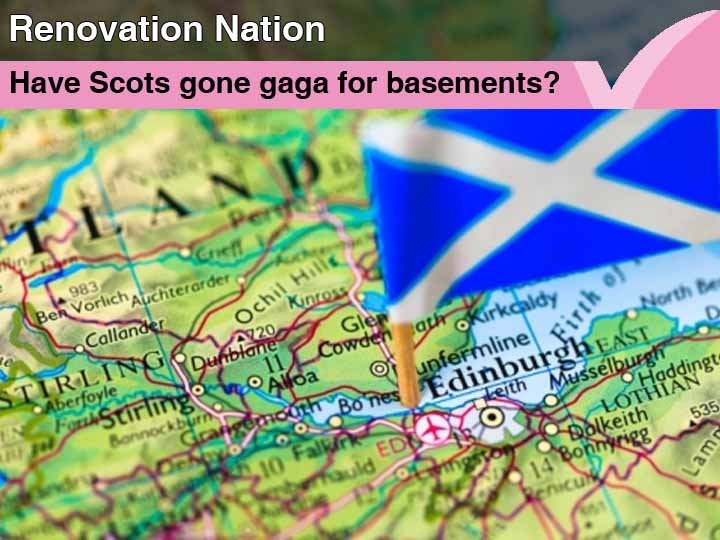 Has Scotland gone gaga for basements?