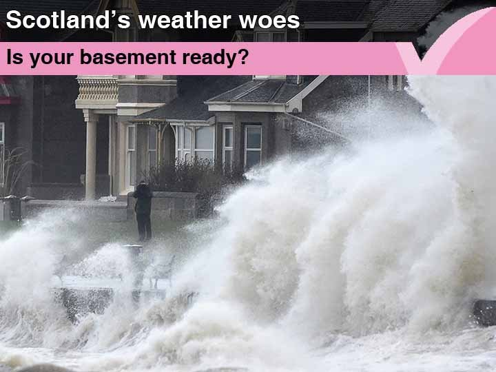 Is your basement ready for Scotland's weather woes?