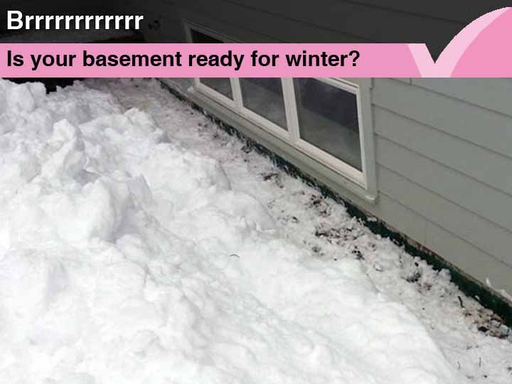 Is your basement waterproofing up to another cold winter?