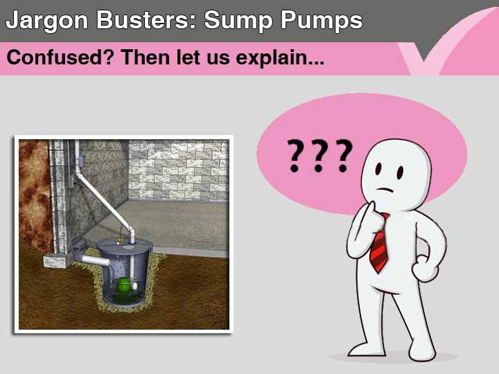 Sump pumps | Jargon Busters