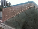 Cavity wall membrane (side view)