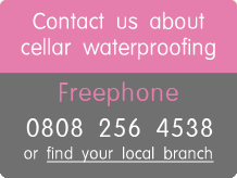 contact us about cellar waterproofing