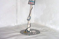 Sump pumps - basement waterproofing products