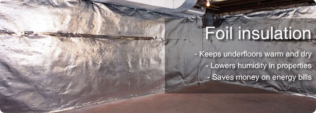 underfloor insulation foil